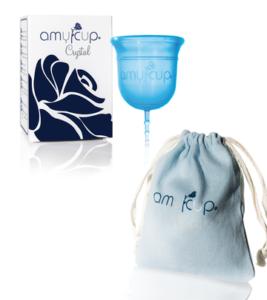 AmyCup Crystal Ladyways Menstruationstassen