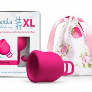 MerulaCup XL - Verpackung und Beutel