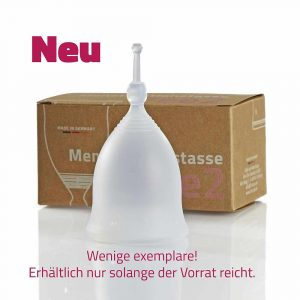 NEU: Fee2 Menstruationstasse Transparent - Ladyways